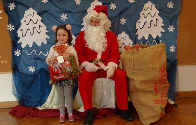 Spotkanie z Mikołajem w grupie Puchatków