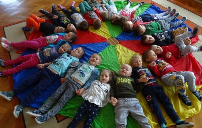 Fotorelacja z obchodów Dnia Dziecka w grupie Puchatków