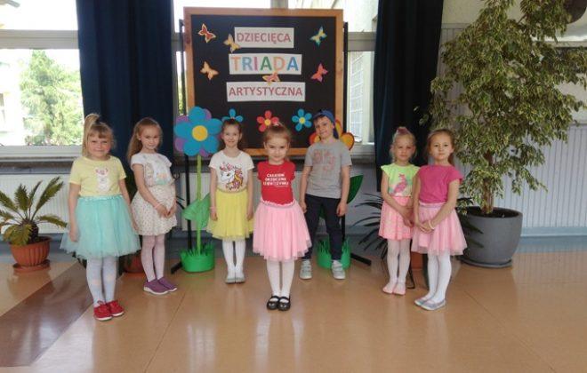 Sukcesy przedszkolaków w tegorocznej edycji Dziecięcej Triady Artystycznej